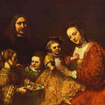 Rembrandt - Portrait of a Family