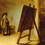 Rembrandt - An Artist in His Studio