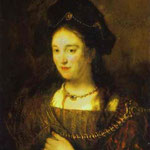 Rembrandt - The Artist's Wife, Saskia