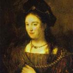 Rembrandt - The Artist's Wife, Saskia