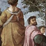 Raffaello - Stanze Vaticane - The Parnassus (detail) [05]