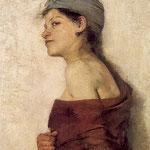 Portret kobiety (Cyganka)-Boznanska, Olga 1865-1940