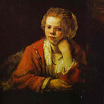 Rembrandt - Young Girl at the Window