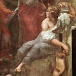 Raffaello - Stanze Vaticane - The Parnassus (detail) [04]