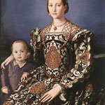 Eleonora of Toledo with her son Giovanni de' Medici, 1544-45