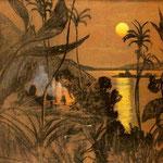 Pejzaz australijski-Witkiewicz, Stanislaw Ignacy (Witkacy) 1885-1939