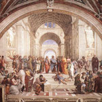 Raffaello - Stanze Vaticane - The School of Athens