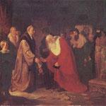 Zygmunt I nadaje szlachectwo profesorom Uniwersytetu Jagiellonskiego -Matejko, Jan 1838-1893