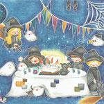 『秘密の魔女パーティー』