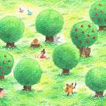 『春の森』