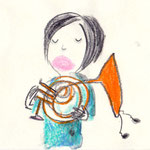 Horn üben