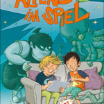 """""""Alien im Spiel"""" (Text von Anja Ackermann), Hummelburg Verlag 2021"""