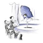 """Pinguin-Eltern aus """"Lisa und das Fluff"""", Tulipan Verlag, 2017, Texte von Andrea Schomburg"""