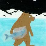 """""""Der Eisbär und der Fisch"""""""