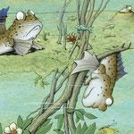 """Der Schlammspringer aus """"Der Mondfisch in der Waschanlage"""", Tulipan Verlag, 2015, Texte von Andrea Schomburg"""