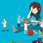 """Schmerzen bei Kindern für """"Pharmazeutische Zeitung"""""""