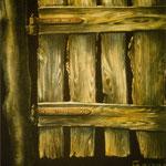 Holzmalerei -Phantasie