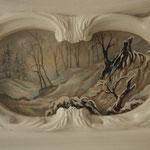 Deckenmalerei 3. Spiegel