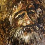 alter  Mann Acryl