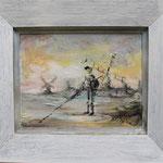 verirrter Don - Acryl/ Öl