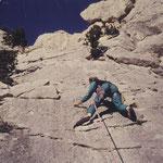 Winter 1988 Dentelles de Montmitailles mit Paul und Lothar: Wir pendelten zwischen Calcaire und Cave de Gigondas