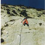 Geriatrisches Klettern in Orpierre