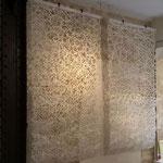 パリデザインウィーク2015に出展した商空間を彩る手漉きの大判和紙