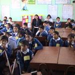 Aufklärungsarbeit in Schulen
