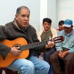 Marc-Antonio, Luchos Bruder, singt