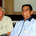 Padre Tino und Andres, Leiter Radio
