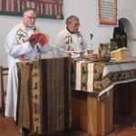 ....... und Bernhard das Evangelium