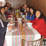 Mittagessen mit dem FEDERH-Team