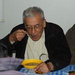 Padre Lucho, der Gründer des Albergos