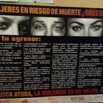 Kampagne gegen Gewalt an Frauen