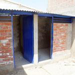 Bau der WC-Analge