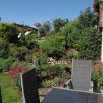 Ansicht Terrasse zu Steingarten