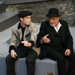 """""""The Captain of Cöpenick"""" - Role: Kalle (2007), with Peter Nüesch"""