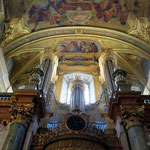 Jesuitenkirche - hier die Orgel
