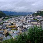 Blick auf die Stadt Salzburg