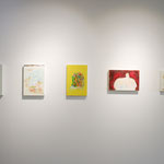 Picture2016, oil on canvas, Installation view, ART OFFICE OZASA /photo credit©ART OFFICE OZASA
