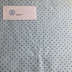 Stoff 7 hellblau/ Punkte