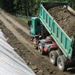 Bodenanlieferung und Dränageverbundstoff TenCate Megadrain