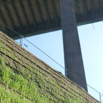 KBE Grün 45: A45 bei Hagen, Kranstellflächen W3, kurz nach Fertigstellung 05/2017