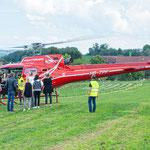 Elite Flights, AS 350 B2 Ecureuil, HB-ZPF, Rundflugtag SCHEGA 19, Schinznach-Dorf