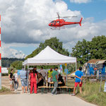 Elite Flights, AS 350 B2 Ecureuil, Airbus H125, HB-ZPF, Rundflugtag 50 Jahre Jubiläum Prodega Langenthal, Helikopterflug, Rundflug