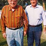 franco masoni e il presidente del pisa calcio di serie a