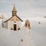 Winterhochzeit in Österreich. Hochzeit im Schnee. marrylight Hochzeitsplanung