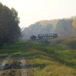 Zugbrücke für die Nebenbahn
