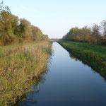 Wasserkanal Richtung Balaton
