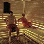 Außen-Block-Sauna